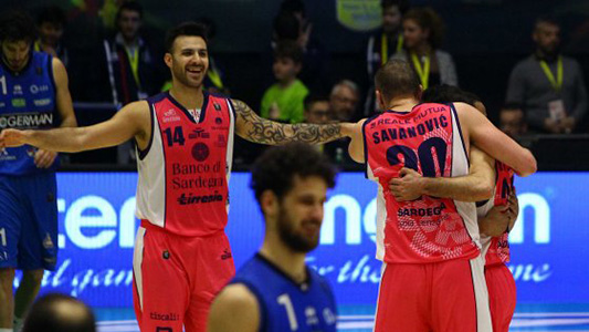Dinamo Sassari-Germani Brescia 77-70, Cronaca e Tabellino (Final Eight Coppa Italia)