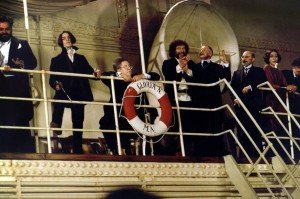 E la nave va (1983, France/Italy) aka And the Ship Sails On Directed by Federico Fellini Shown: Scene